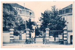 La Roche-sur-Yon - Caserne Traveau - édit. G. Artaud 7 + Verso - La Roche Sur Yon