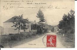 88 - Vosges - Escles - Route De Vioménil - Other Municipalities