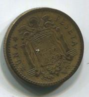 España, 1947. 1 Peseta. Francisco Franco - [ 4] 1939-1947 : Gobierno Nacionalista