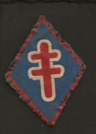 Militaria / Insigne De Manche,écusson Tissu ( Croix De Lorraine ) - Scudetti In Tela