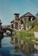 64, Saint Jean Pied De Port, L'Eglise Et La Nive - Saint Jean Pied De Port