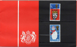GREAT BRITAIN 1966 Christmas: Children's Paintings Presentation Pack - Presentation Packs