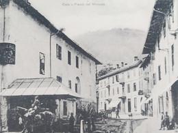 Cartolina - Oulx - Piazza Dei Mercato - 1920 Ca. - Sin Clasificación