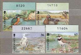 GUERNSEY 2001 Fauna Birds Mi 880-883 MNH (**) #25273 - Ohne Zuordnung