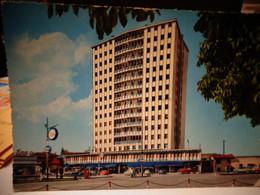 Cartolina   Udine Piazzale G. B. Cella La Torre Distributore Esso 1964 - Udine