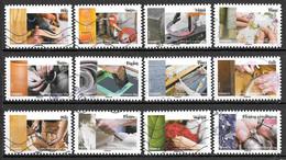 FRANCE Adhésif 1070 à 1181 Métiers De L'artisanat 2015 - Autoadesivi