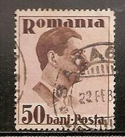 ROUMANIE  N° 487   OBLITERE - 1918-1948 Ferdinand, Charles II & Michael