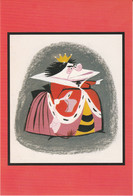 Postcard - Disney Villians - Alice In Wonderland, Concept Art By Mary Blair,  Gouache New - Unclassified