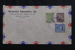 VENEZUELA - Enveloppe Commerciale De Caracas Pour La Suisse En 1947 Par Avion - L 72952 - Venezuela