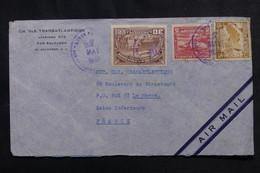 SALVADOR - Enveloppe Commerciale De San Salvador Pour La France En 1938 Par Avion - L 72953 - El Salvador