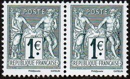 France N° 5094 P ** (soit 5094 Et 5095 En Paire, N Sous U Ou B) 140 Ans Du Type Sage 1876 - Ongebruikt