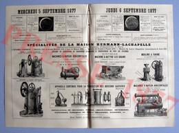 Hermann-Lachapelle Locomobiles Tarare Ventilateur Moulin à Farine Boissons Gazeuses Hindoustan Lahore Pakistan 237CH2 - Non Classificati