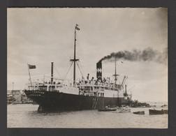 Egypt - Rare - Vintage Original Photo - HARVARD Ship - London - As Scan - 10x7.5 Cm - Andere