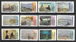 FRANCE Adhésif 825 à 836 Avant Et Après L'impressionnisme  2013 - Sellos Autoadhesivos