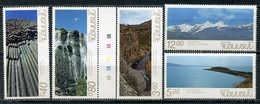 Е150 ARMENIA 1993 215-219 The Nature Of Armenia. Reserves And Landscapes - Armenia