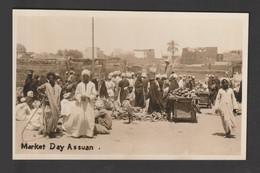 Egypt - Rare - Vintage Original Post Card - ASWAN - Egypt - Briefe U. Dokumente