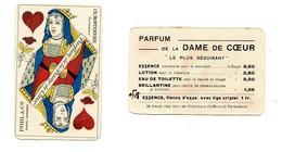 Publicité - Carte Parfum De La Dame De Coeur - Parfumkaarten