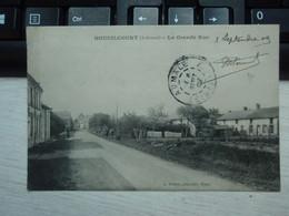 Cpa Houdilcourt La Grande Rue. 1909 - Otros Municipios