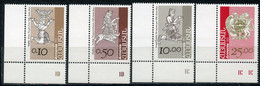 Е150 ARMENIA 1994 227-230 Standard Issue. Coats Of Arms And Flags. Religion - Armenia