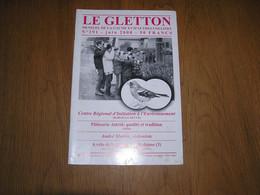 LE GLETTON N° 291 Régionalisme A Vélo De La Gaume à L'Ardenne à La Découverte Des Chemins Du Rail Bohan Semois Arlon - Bélgica