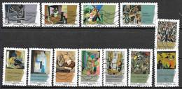 FRANCE Adhésif 699 à 710 Peintures Du 20 ème Cubisme 2012 - Autoadesivi