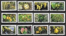 FRANCE Adhésif 686 à 697 Fruits 2012 - Sellos Autoadhesivos