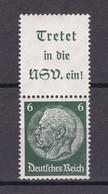 Deutsches Reich - 1939 - Michel Nr. S 191 - Ungebr. - Se-Tenant
