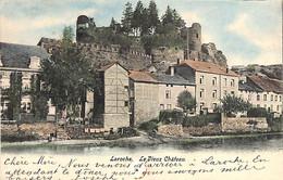 Laroche - Le Vieux Château (colorisée 1904...trous De Punaise ) (prix Fixe) - La-Roche-en-Ardenne