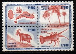 M009C - CHILE 1974 - SC#: 455 - MNH - JUAN FERNANDEZ ARCHIPELAGO - Chile