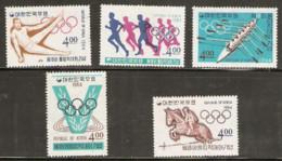 Korea  1964  SG  557-61 Tokyo Olympics  Unmounted Mint - Summer 1964: Tokyo