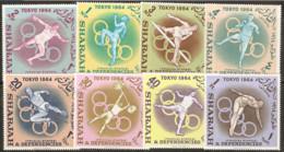 Sharjah  1964    SG 58-65  Tokyo Olympics  Unmounted Mint - Summer 1964: Tokyo