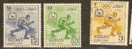 Sudan   1960 SG 155-7  Rome Olympics  Unmounted Mint  Mint - Ete 1960: Rome
