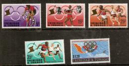 Trinidad And Tobago  1968  SG  334-8 Mexico  Olympics Unmounted Mint - Summer 1968: Mexico City