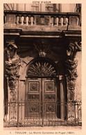 3437 Carte Postale TOULON  La Mairie Cariatides De Puget (1657)       83 Var - Toulon