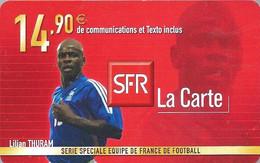 Carte Prépayée -  SFR La Carte - Thuram  / 14.90 € - Frankreich