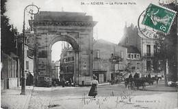 58 Nièvre - NEVERS - La Porte De Paris - Nevers