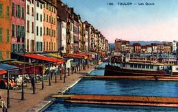 3435 Carte Postale TOULON       Les Quais        83 Var - Toulon