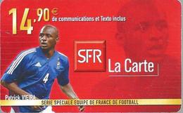 Carte Prépayée -  SFR La Carte - VIEIRA  / 14.90 € - Frankreich