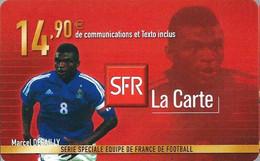 Carte Prépayée -  SFR La Carte - Desailly  / 14.90 € - Frankreich