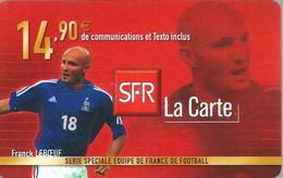 Carte Prépayée -  SFR La Carte - Leboeuf  / 14.90 € - Frankreich
