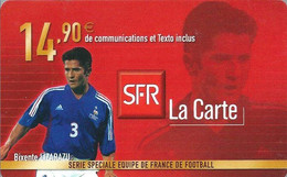 Carte Prépayée -  SFR La Carte - Lizarazu  / 14.90 € - Frankreich
