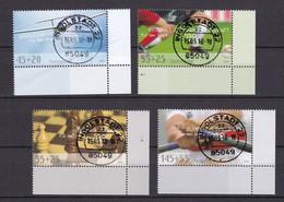 BRD - 2008 - Michel Nr. 2649/2652 Ecke - Gestempelt - [7] Federal Republic