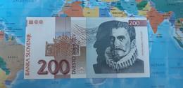 SLOVENIA 200 TOLAR 1997 P15b UNC - Slovenia
