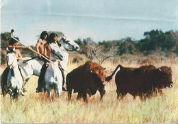 Les Indiens - Paco Et Mato Chassent Le Bison - Série ORTF - Indiani Dell'America Del Nord