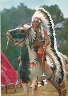 Les Indiens - Tanka , Le Chef De La Tribu (Robert Mattura) - Série ORTF - Indiani Dell'America Del Nord
