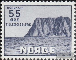 Norway 382 With Hinge 1953 Tourism - Neufs