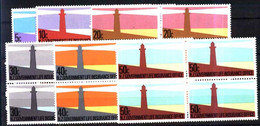 # 7965 NEW ZELAND 1981 LIGHTHOUSES BLOC OF 4 YV 139/44 NEUF MNH POSTFRISCH - Unused Stamps