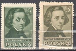 Poland 1947 Polish Culture - Mi 465A - MNH(**) - Unused Stamps