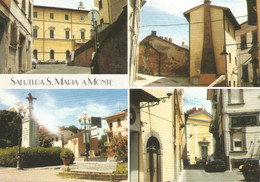 (PI) SANTA MARIA A MONTE, MULTIVEDUTA - Cartolina Nuova - Otras Ciudades