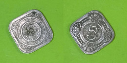 Curacao - 5 Cents 1948 Used (cu004) - Curaçao